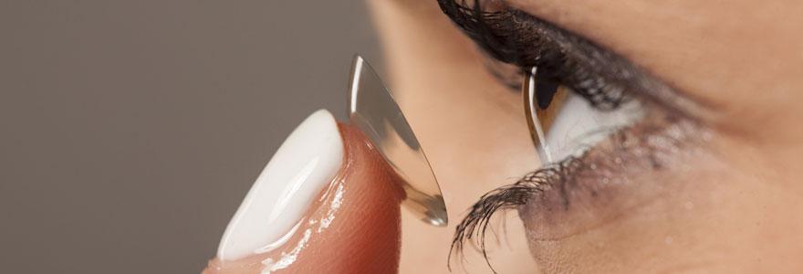 Adaptation des lentilles de contact sclérales