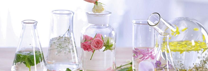 Eaux florales bio